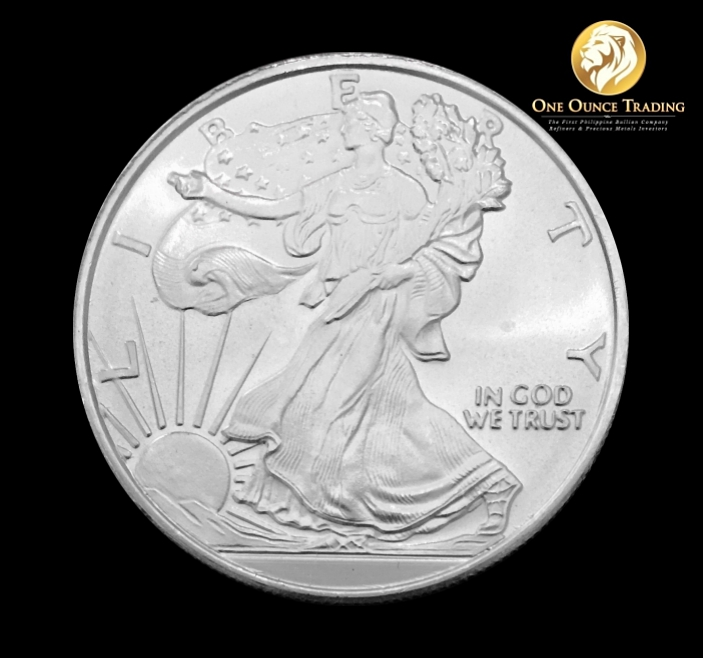 One Ounce Trading 1 Oz Walking Liberty Silver Round Bu