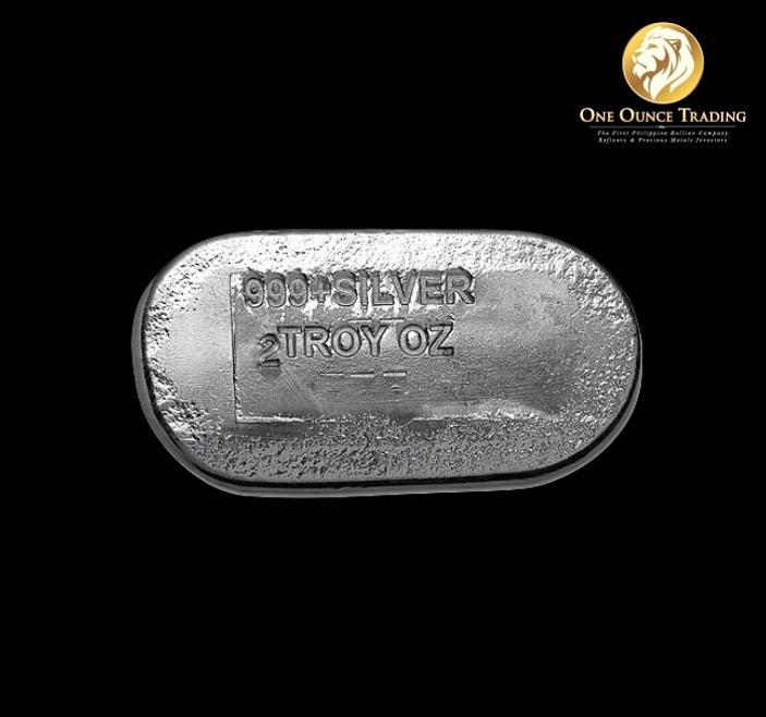 2 Oz Engelhard Silver Cast Bar One Ounce Trading