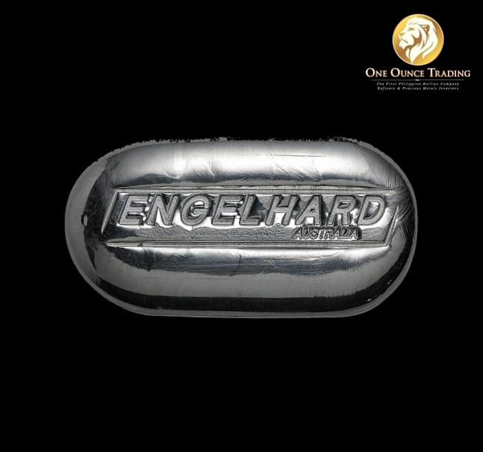 1 Oz Engelhard Silver Bar 999 Fine