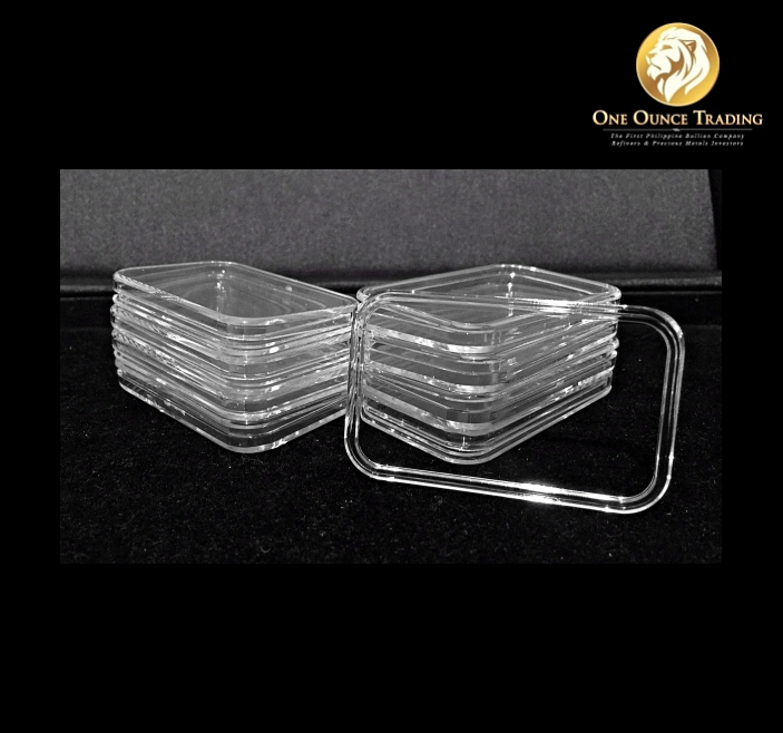 Air Tite Capsule Holder For 1 Oz Silver Bar One Ounce Trading