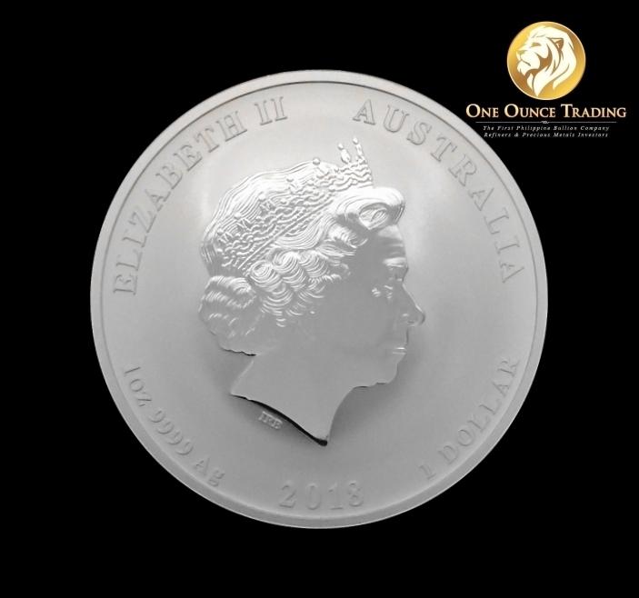 1994 China Lunar Zodiac Year Of The Dog Coin Medal Fine: 1 Oz Silver Lunar Dog BU 2018 (with Capsule)
