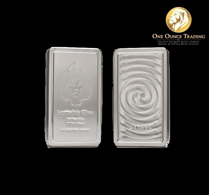 10 Oz Scottsdale Stacker One Ounce Trading