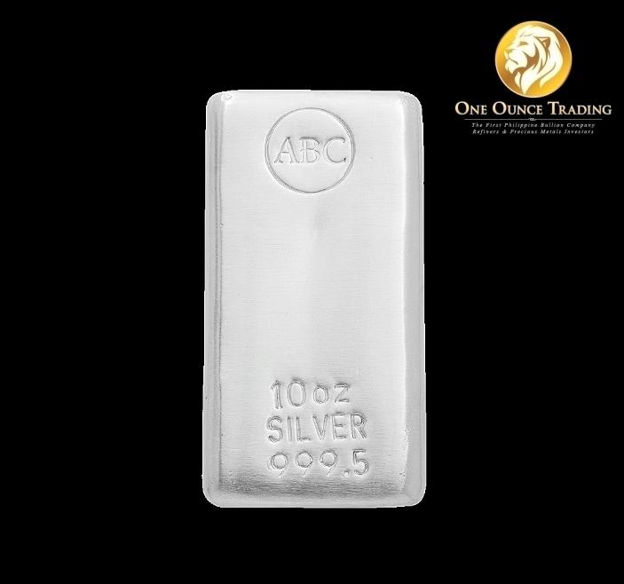 10 Oz Abc Bullion Silver Cast Bar One Ounce Trading