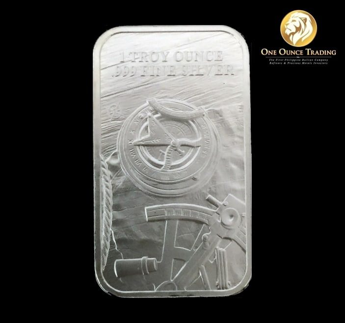 1 Oz Silver Prospector Bar One Ounce Trading